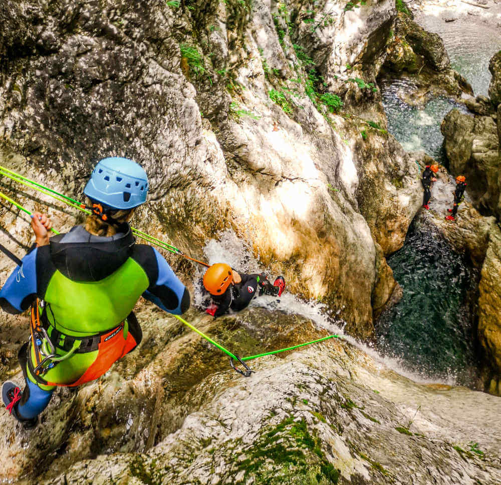 Canyoning Bovec - Sušec