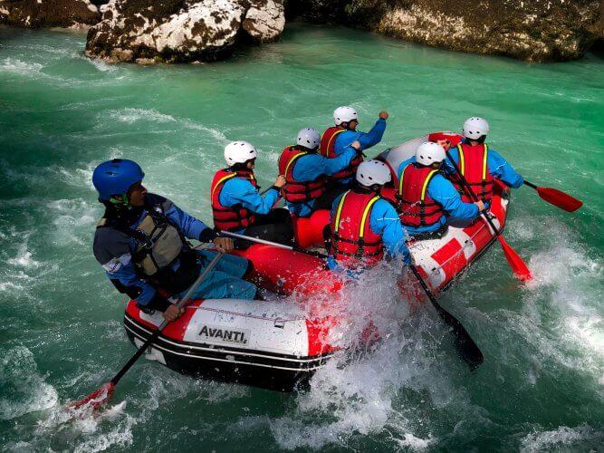 Rafting Bovec darilni bon