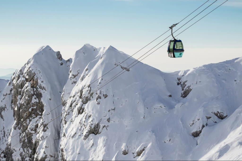 Kanin ski resort Bovec