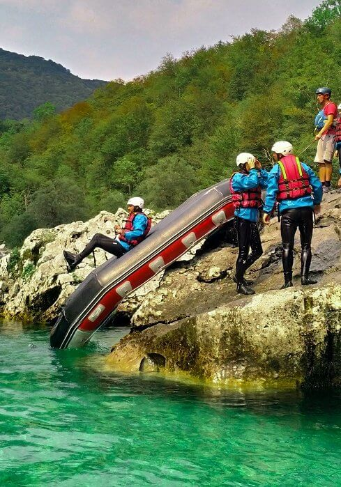 Rafting in Bovec